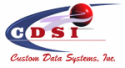 Custom Data Systems, Inc. Logo